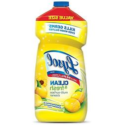 Lysol Clean and Fresh Multi-Surface Cleaner, Lemon Sunflower