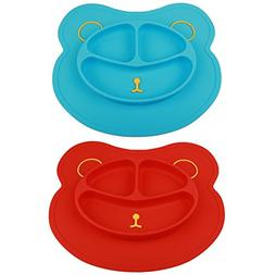 mess silicone suction baby placemat