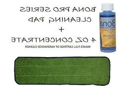 Professional Bona Microfiber Cleaning Pad w/Hardwood Concent