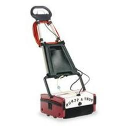 Minuteman Port A Scrub Floor Cleaner With Transport Cart