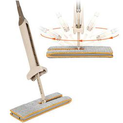 Mop Floor Cleaning Tool Accessories Double-Side Flat Hands-F