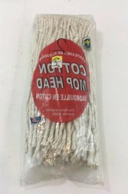 MOP HEAD Heavy Duty Cotton Replacement Refill String Wet Flo