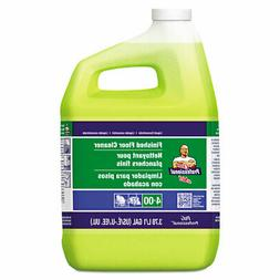 Mr. Clean Finished Floor Cleaner Lemon Scent One Gallon Bott