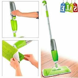 Spray Mop Cleaner Home Floor Bath Kitchen Sweeper Broom Micr