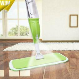 NEW Water Spray Household Flat Mop Floor Cleaner Rotable Hea