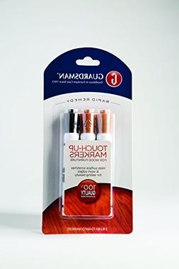 3-Piece Non-Toxic Touch-Up Markers for Wood Furniture