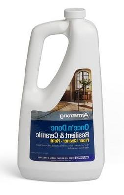 Armstrong Once 'N Done Resilient & Ceramic Floor Cleanr Refi