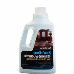 Armstrong Once 'N Done No-Rinse Floor Cleanr Concentrate, 64