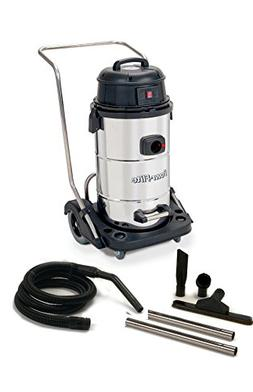 Powr-Flite PF53 Wet Dry Vacuum with Stainless Steel Tank and