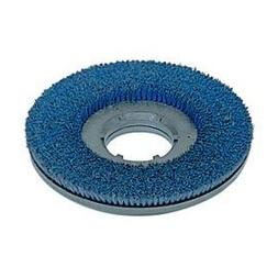 """Powr-Flite PFDS20 15"""" Poly Shower Feed Brush With Clutch Pla"""