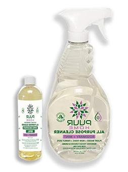 PUUR Home Natural All Purpose Cleaner. Best Value 32 oz.Spra