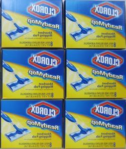 Clorox Readymop Absorbent Cleaning Pads, 8 Pads