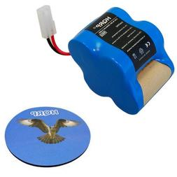 HQRP 4.8V 2000mAh Rechargeable Battery Euro-Pro Shark Sweepe