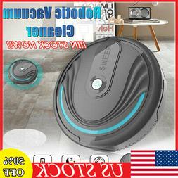 Rechargeable Smart Robot Vacuum Floor Cleaner Auto Sweeping
