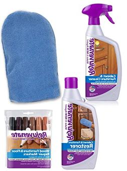 Rejuvenate Cabinet & Furniture Cleaner and Restoration Kit F