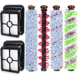 Replacement Hepa Filter Brush Roll Kit for Bissell Crosswave