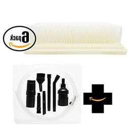 6-Pack Replacement Hoover Hoover FloorMate SpinScrub Hard Fl