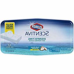 CLOROX Scentiva Disinfecting Wet Mopping Pad Refills – Pac