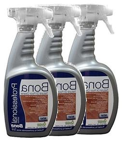 3 PACK Bona Professional Series Natural Oil Floor Cleaner -