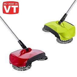 BPG Spin Broom/Sweeper, As Seen on TV.Lightweight Cordless S
