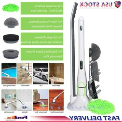 Spinwave Push Sweeper Broom Household Floor Cleaning Mop and
