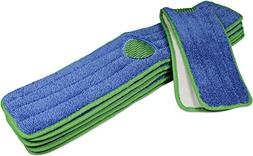 CleanAide Spot Cleaning Twist Yarn Microfiber Mop Pad with S