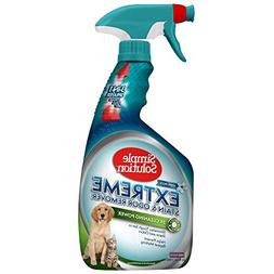 Simple Solution Extreme Pet Stain and Odor Remover With Pro-