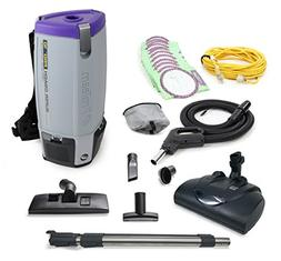 Proteam Super CoachPro 10 Commercial Backpack Vacuum w/Wesse