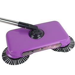 Pevor Natural Sweep Dual Brush Sweeper without Electricity,