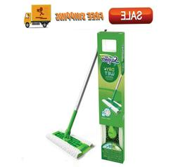 ⭐Swiffer Sweeper Cleaner Dry Wet Mop Starter Kit Cleaning