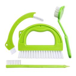 4 Pack Tile Brushes Grout Cleaner, Joint Scrubber for Deep C