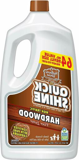 Quick Shine High Traffic Hardwood Floor Luster and Polish, 6