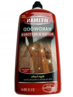 Weiman Wood Floor Polish and Restorer - 32 Ounce - High-Traf