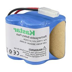 Kastar V1930 Battery , Ni-MH 4.8V 3800mAh, Replacement for E