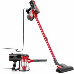 Vacuum Cleaner, 17KPa Strong Suction 4 in 1 Corded Stick Vac