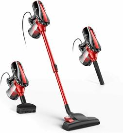 MOOSOO Vacuum Cleaner Corded 17KPa Suction Stick Vacuum 2 in