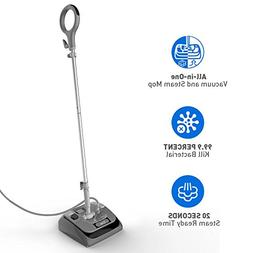 Vacuum Steam Mop - ALL IN ONE Vacuum & Steam Mop for Hard Fl