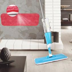 Water Spray Household Flat Mop Floor Cleaner 360 Spin Head w