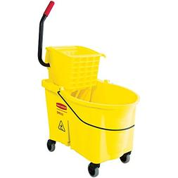 Rubbermaid Commercial WaveBrake Mopping System Bucket and Si