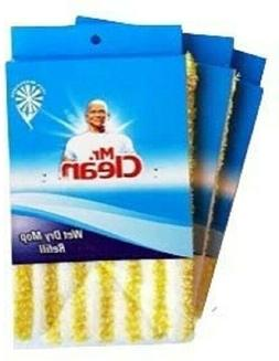 Mr. Clean Wet Dry Mop Refill 100% Microfiber 3 Pack