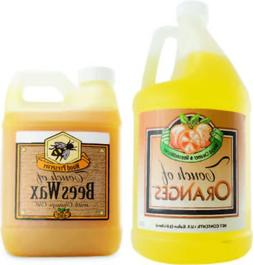 Touch of Oranges Hardwood Floor Cleaner and Touch of Beeswax