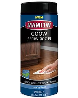 Weiman Wood Floor and Furniture Wipes - Quickly Cleans Hardw