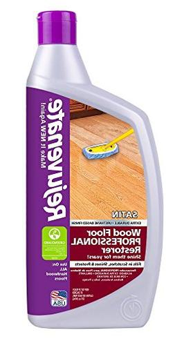 Rejuvenate Professional Wood Floor Restorer Satin Non Toxic