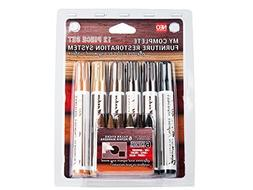12 Pc Wood Stain Markers Set - Furniture Restoration & Repai