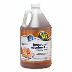 Zep Hardwood/Laminate Cleaner, Fresh Scent, 1 gal, 4 Bottles